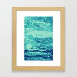 Plats Framed Art Print
