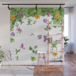 Flower Fall Wall Mural