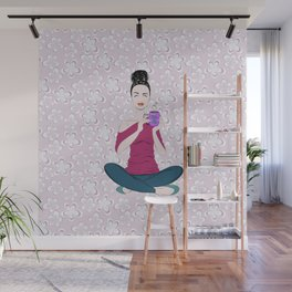 Coffee Is Bliss Wall Mural