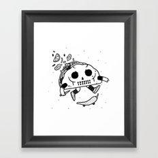 Al Pastor chili-flip Framed Art Print