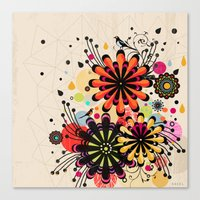 blossom Canvas Prints featuring Blossom by Kakel