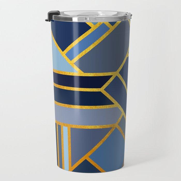Art Deco Drops Of Jupiter Travel Mug