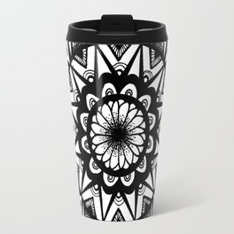 Lotus Mandala Travel Mug