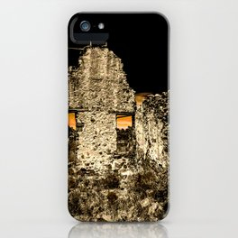 Sunset Behind Dripping Springs Ranch Ruins, New Mexico iPhone Case