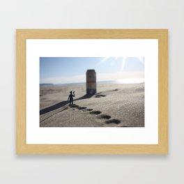 The Mirage. Framed Art Print