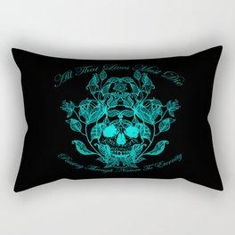 All That Lives V2 Rectangular Pillow