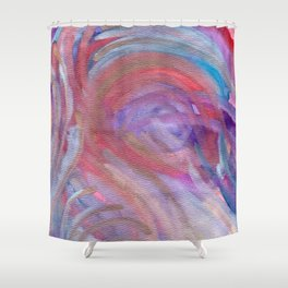 Cracking The Crown Shower Curtain