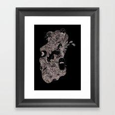 Little buddies Framed Art Print