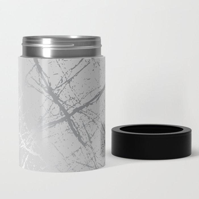 Silver Splatter 089 Can Cooler