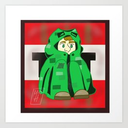 Creeper Gavin Art Print