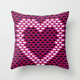 Too much pink Throw Pillow