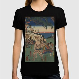 A game of Sumo Wrestling. T-shirt
