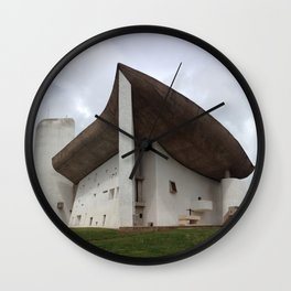 Chapelle Notre-Dame-du-Haut | Le Corbusier Wall Clock