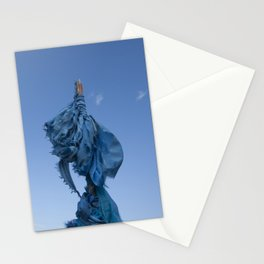 Sacred Blue Stationery Cards