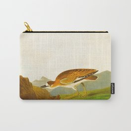 Rocky Mountain Plover Bird Carry-All Pouch