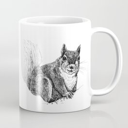 Squirrel drawing Coffee Mug