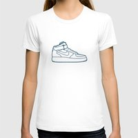 nike T-shirts featuring #13 Nike Airforce 1 by Brownjames Prints
