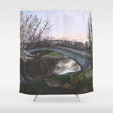 Charles River Esplanade 4 Shower Curtain