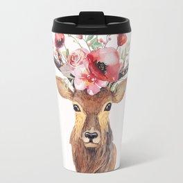 Bohemian Deer Travel Mug