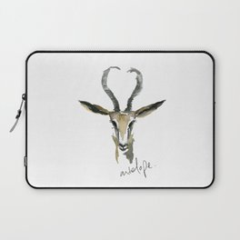 A is for Antelope Laptop Sleeve