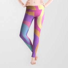 Pastel Swirls Leggings