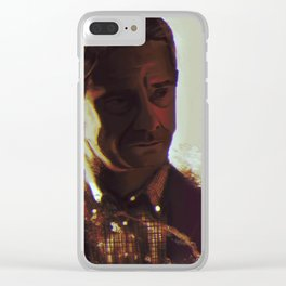 Disbelief Clear iPhone Case