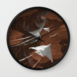 How the fuck did he get over that bridge?! Wall Clock
