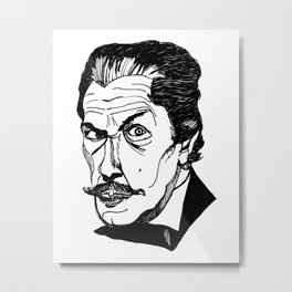 the vincent price is right Metal Print