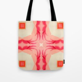Pink Yams Tote Bag