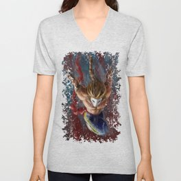 Vega, Spanish Street Fighter- Desafío52 Unisex V-Neck