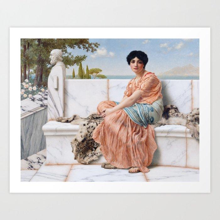 In the Days of Sappho Kunstdrucke