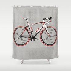 Race Bike Shower Curtain
