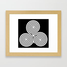 laberint Framed Art Print