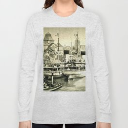 THE HARBOUR IN GREYS Long Sleeve T-shirt