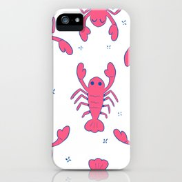 good boy lobster iPhone Case