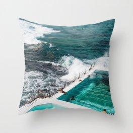 Sydney Summer Stories Throw Pillow