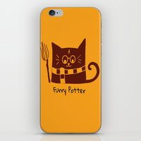 furry iPhone & iPod Skins featuring Furry Potter  by MerryLittleDoodle