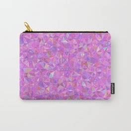 Purple Shards of Life Carry-All Pouch