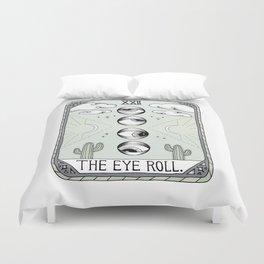 The Eye Roll Duvet Cover