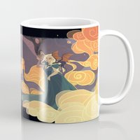 mother of dragons Mugs featuring Mother of dragons by Ann Marcellino