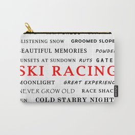 Ski Racing Carry-All Pouch