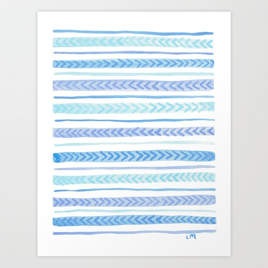 Blue Arrows by lauramax
