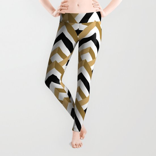 hill pattern Leggings