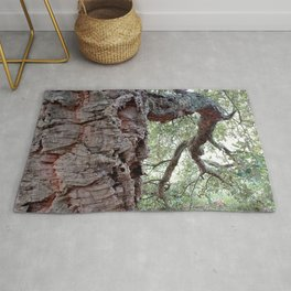 Cork Oak Tree Forest 1 Rug