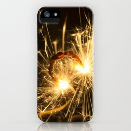 'Up in Smoke' (Sparks No.1) iPhone Case
