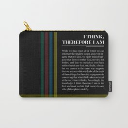 Philosophia II: I think, therefore I am Carry-All Pouch