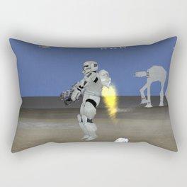 War Stars: Jet Fire Rectangular Pillow