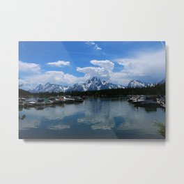 Colter Bay  - Jackson Lake Metal Print