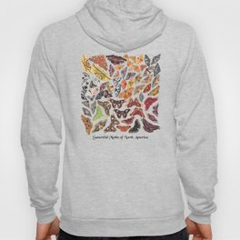 Saturniid Moths of North America Hoody