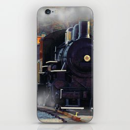 The Rail Yard  -  Steam Train iPhone Skin